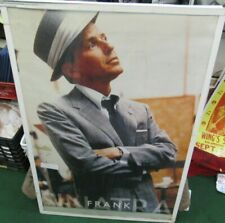 FRANK SINATRA POSTER NEW  EARLY 2000S RARE VINTAGE COLLECTIBLE OOP BRAT PACK