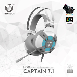 Fantech HG11 Professional Gaming Headphones USB Virtual 7.1 Headset Surround Sou