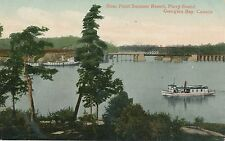 POSTCARD  SHIPS  STEAMERS   Rose Point Summer resort  Canada