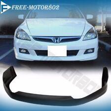 For 06-07 Honda Accord 4Dr Sedan Front Bumper Lip HFP-Style Urethane