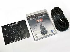 NEW Rocksmith Sony PlayStation 3, PS3 Guitar Learning Game Real Tone Cable READ