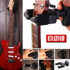 Universal Auto Lock Electric Guitar Wall Hook Hanger Holder Stand Hook Mount