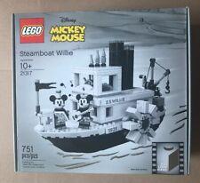 Lego Disney Steamboat Willie 21317 NIB Ready To Ship