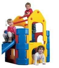 Plastic Activity Climber Gym Slide Steps Tough Strong Fun Outdoor Boy Girl