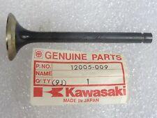 Kawasaki NOS NEW  12005-009  Exhaust Valve  KZ KZ900 KZ1000 LTD MKII Z1R 1976-81