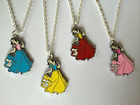 Disney Princess Necklace Snow White Silver Plated chain Xmas girls gift present