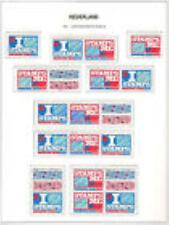 Nederland alle combinaties  uit  postzegelboekje 54  postfris/MNH