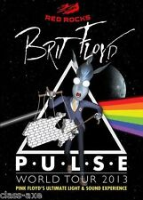 BRIT FLOYD - LIVE @ RED ROCKS 2013 DVD NEW USA PLAYERS Pink Floyd Tribute