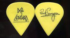 DEF LEPPARD 1999 Euphoria Tour Guitar Pick!!! RICK SAVAGE custom concert stage