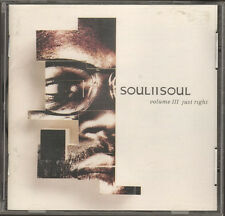 SOUL II to SOUL Volume 3 III NEW CD 10 track BOOKLET 20 page JUST RIGHT 1992