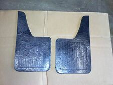 RUBBER MUDFLAP SET OF 2 10X18 FLAPS FOR AUTO CAR TRUCK TRACTOR BOAT TRAILER RV
