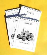 Field Marshall Mk3 Tractor pack of 4 Small A6 Note Pads Gift Set