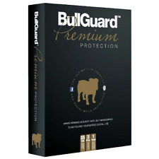 NEW BULLGUARD PREMIUM PROTECTION ANTIVIRUS 3PC 1 YEAR 25GB ONLINE BACKUP PC 1350