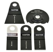 5 Blade Mix A for Worx Sonicrafter Hex Drive Multitool