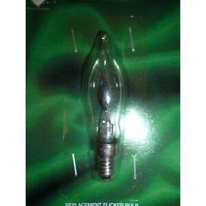 1 X E10 Replacement Screw In Flicker Bulb 34v 3w (SB282)