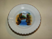 VINTAGE  AUSABLE CHASM NY SOUVENIR MINI ASHTRAY