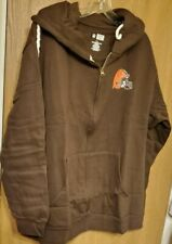 Cleveland Browns Jacket by Majestic - Size 1X - Women's