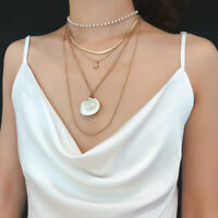 Sea Bohemian Chain Beach Choker Fashion Shell Jewelry Necklace Pendant