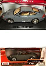 Porsche 911 Gris 1/18 Motormax Nuevo Caja Original