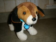 Nintendogs Beagle Puppy Dog Interactive Plush Toy Barks Head Move Tail Wags