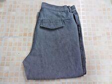Calvin Klein Women Straight leg Pants Trouser Grey Size w28 L31 Grade A WB097