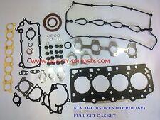 KIA SORENTO D4CB 2.5 CRDI 16V 2002-2009FULL GASKET SET