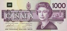 Canada, 1000 Dollars, 1988, P.100, REPRODUCE