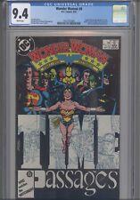 Wonder Woman V2 #8 CGC 9.4 17  DC Comic Captain Marvel, Superman App: New Frame