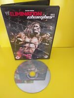 Dvd Wwe Elimination Chamber 2011 Very Good Condition Mint