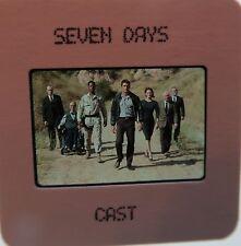 SEVEN DAYS CAST Jonathan LaPaglia, Don Franklin, Justina Vail    SLIDE 2