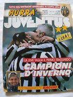 HURRA' JUVENTUS N. 2 - 1995 ROBERTO BAGGIO CAMPIONI D'INVERNO