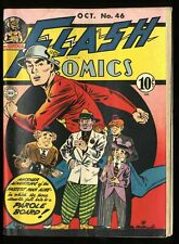 Flash Comics #46 VG+ 4.5 White Pages