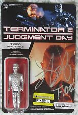 ROBERT PATRICK SIGNED TERMINATOR 2 T-1000 FINAL BATTLE REACTION FIGURE DC/COA