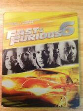 Fast And Furious 6 Steelbook (Blu Ray/DVD)Authentic US RELEASE