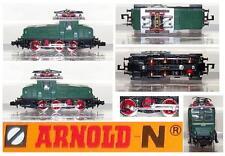 ARNOLD 2460 VINTAGE LOCOMOTORE ELETTRICO SHUNTER Ep.3a Serie E6306 BOX SCALA-N