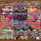 NWT- Authentic Vera Bradley-New Colors Added- Euro Wallet  - New with Tags