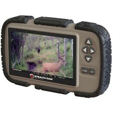 """New listing New Stealth Cam Sd Card Reader/Viewer w/ 4.3"""" Lcd Screen Stccrv43"""