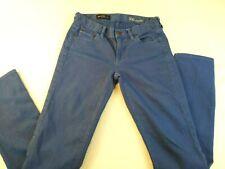 J. Crew Womens Jeans Matchstick Stretch Cobalt Blue Low Rise Size 26 Regular