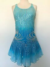 Sale! New Figure Ice Skating Baton Twirling Dress Costume Adult S