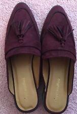 "City classified shoes ""Suede Like"" Tassel Slip On Size 8.5"