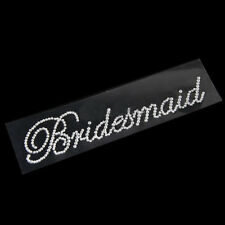 DIY For Bachelorette Party Accessories Clear Rhinestone Sticker Bridesmaid