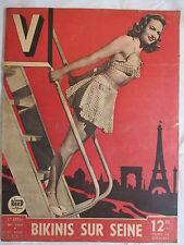 V MAGAZINE 150 année 1947 cinéma/Music-hall / PIN-UP