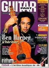 """GUITAR PART #108 """"Ben Harper,M,Llinkin Park,J.Beck"""" (REVUE)"""