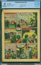 Detective Comics #38 Page 3 ONLY CBCS 1st Robin! Pg Features Young Dick Grayson!