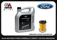 OLIO MOTORE FORD FORMULA F PROFESSIONAL A5 5W30  FORD 5 LITRI + FILTRO OMAGGIO