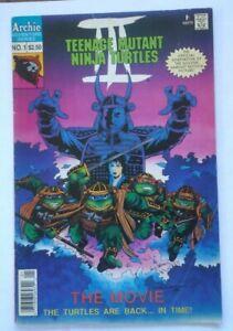 Teenage Mutant Ninja Turtles lll The Movie #1 Archie Comics
