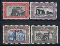 Tripolitania 1929 Sass. 50-53 Nuovo ** 100% Milizia II