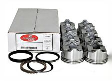 77-92 Ford 302 5.0L V8 Flat Top Pistons and Cast Rings