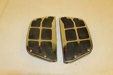 HARLEY DAVIDSON OEM NEW SMOOTH CHROME PASSENGER  FOOTBOARD INSERTS 50296-02