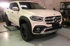 Mercedes X Class SLIM Wheel Arch Extension Upgrades Black